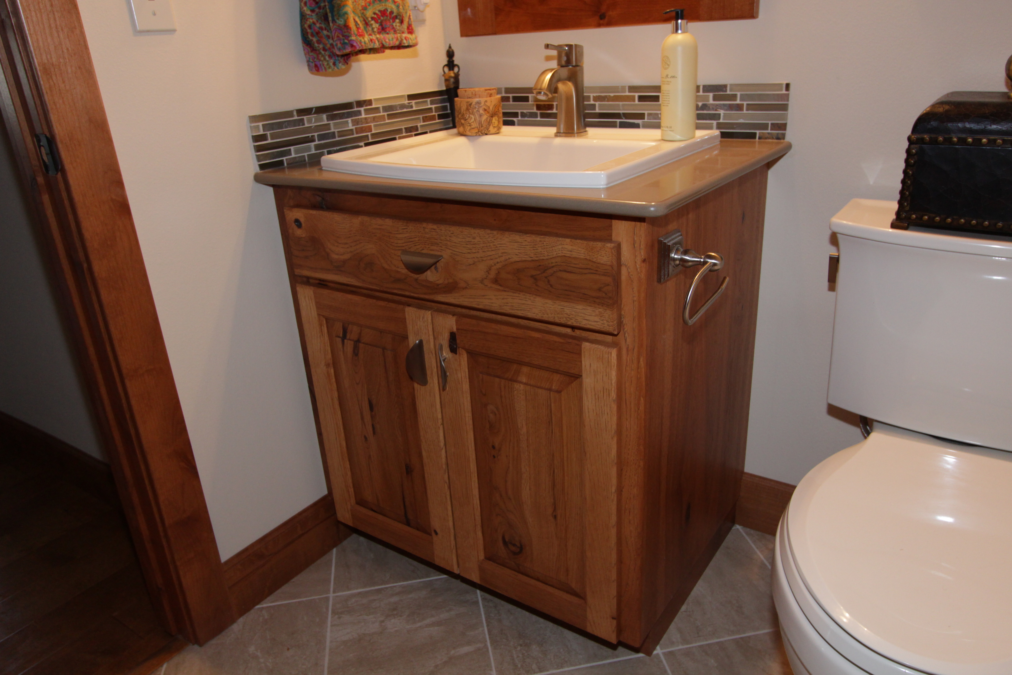 Rustic bathroom vanity cabinets houston styles deebonk Bathroom vanities houston tx