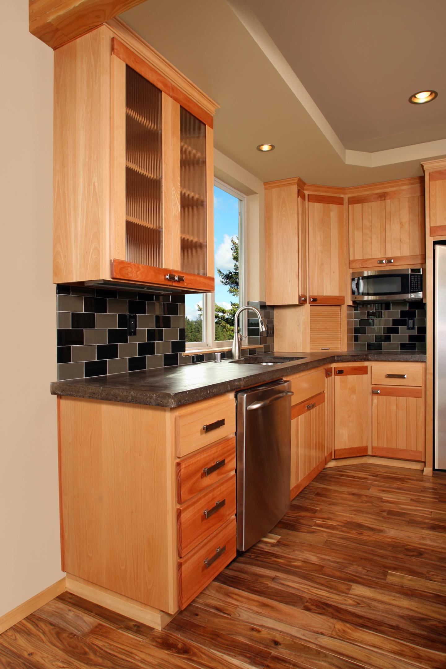 Beech Wood Cabinets ~ Affordable custom cabinets showroom